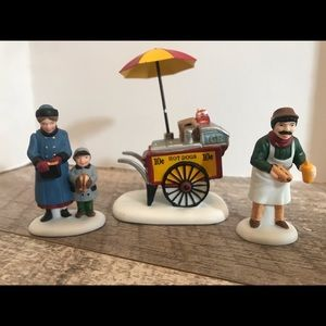 Hot Dog Vendor Heritage Village  Collection